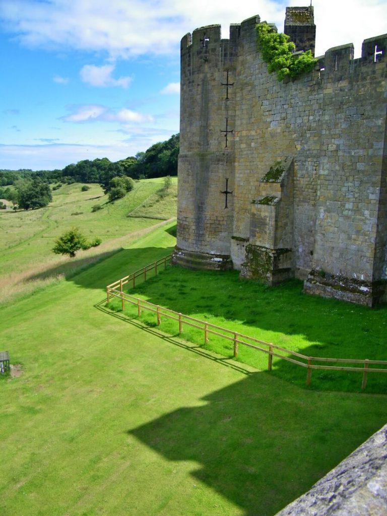 Alnwick castle, bastione esterno