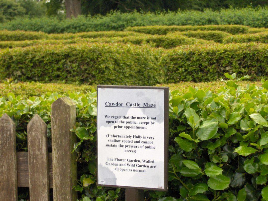 labirinto del castello di cawdor