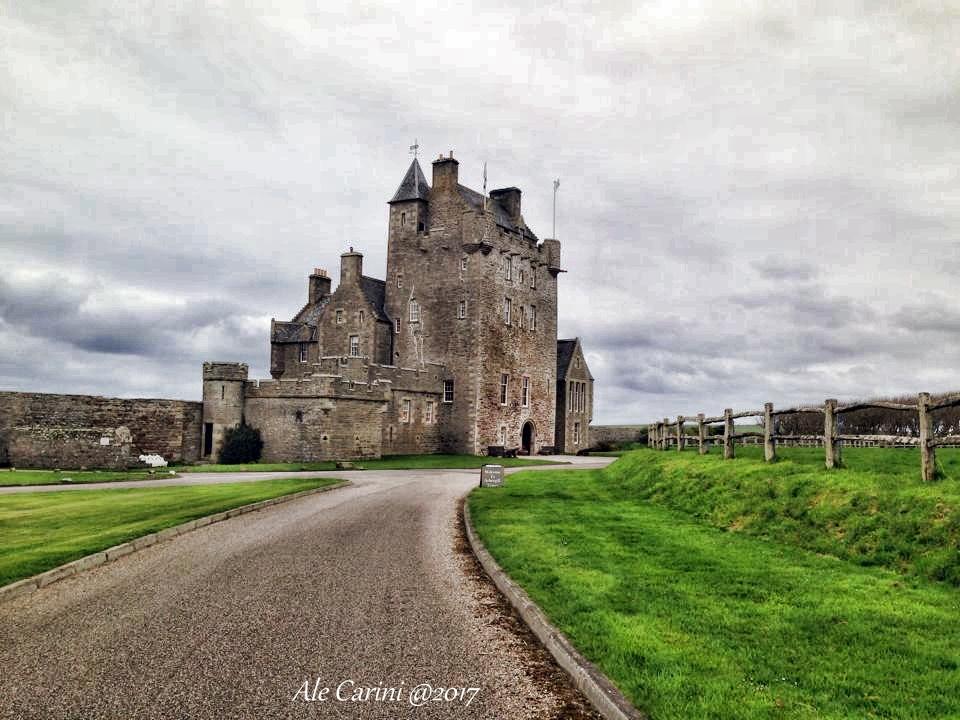 Dormire in un castello in Scozia: Ackergill Tower ...