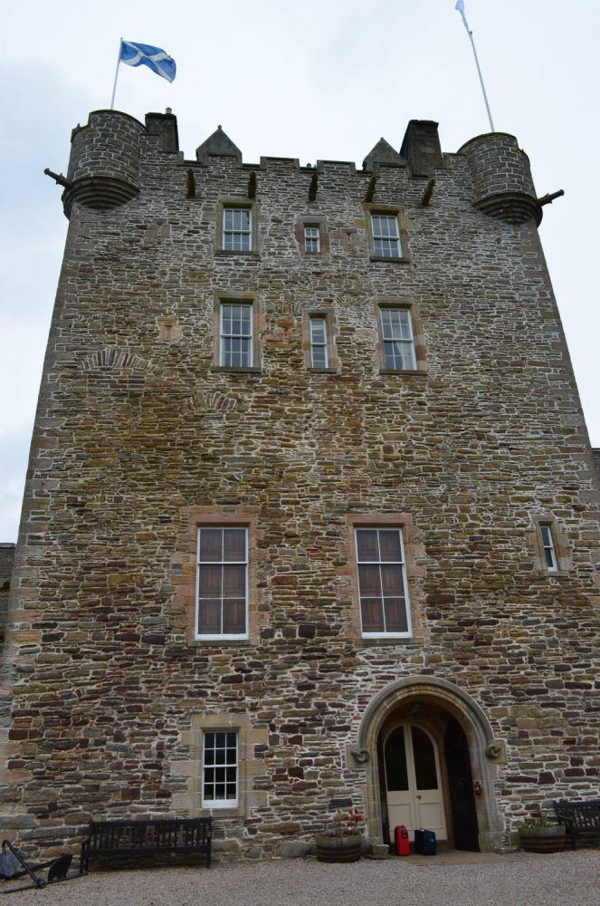 ackergill tower, dormire in un castello in scozia