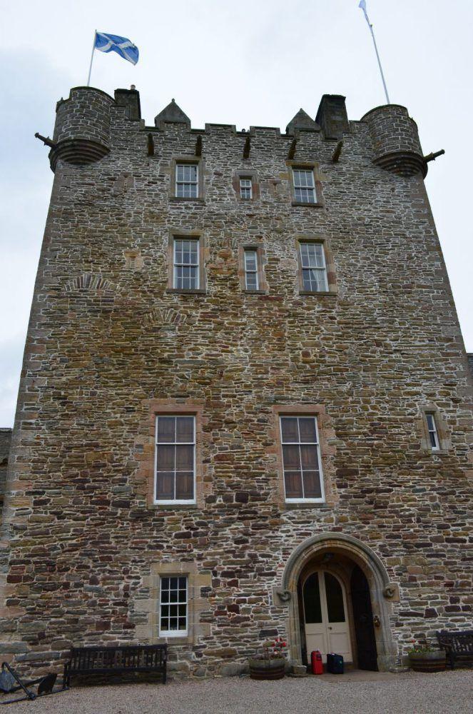 ackergill tower, dormire in un castello in scozia