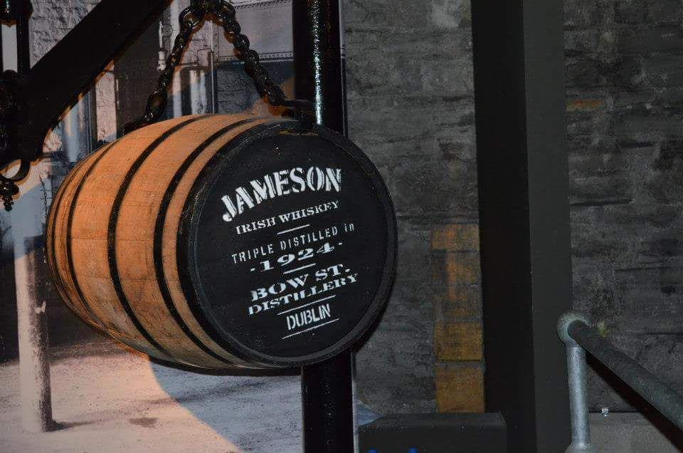 barile di whisky jameson distillery