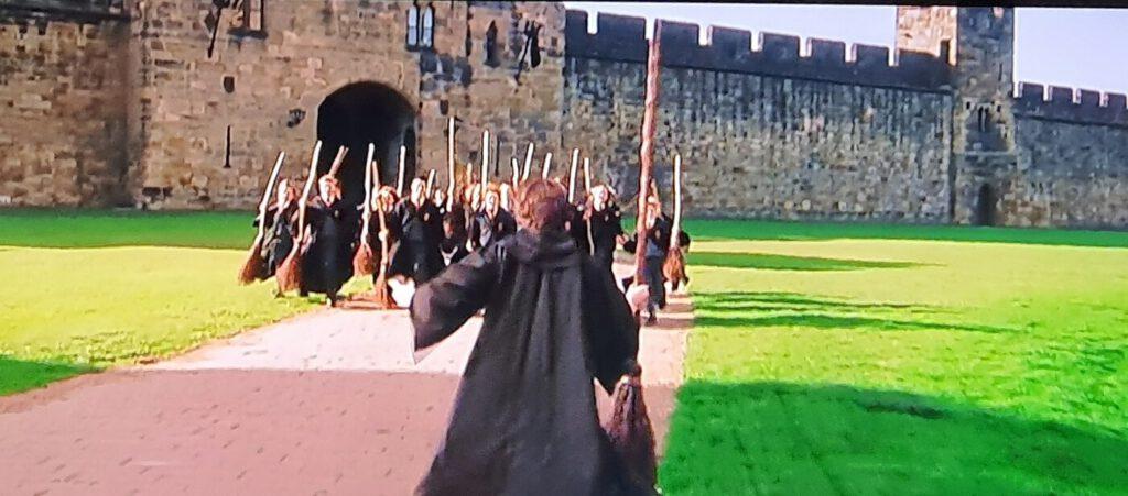 lezioni di volo a hogwarts