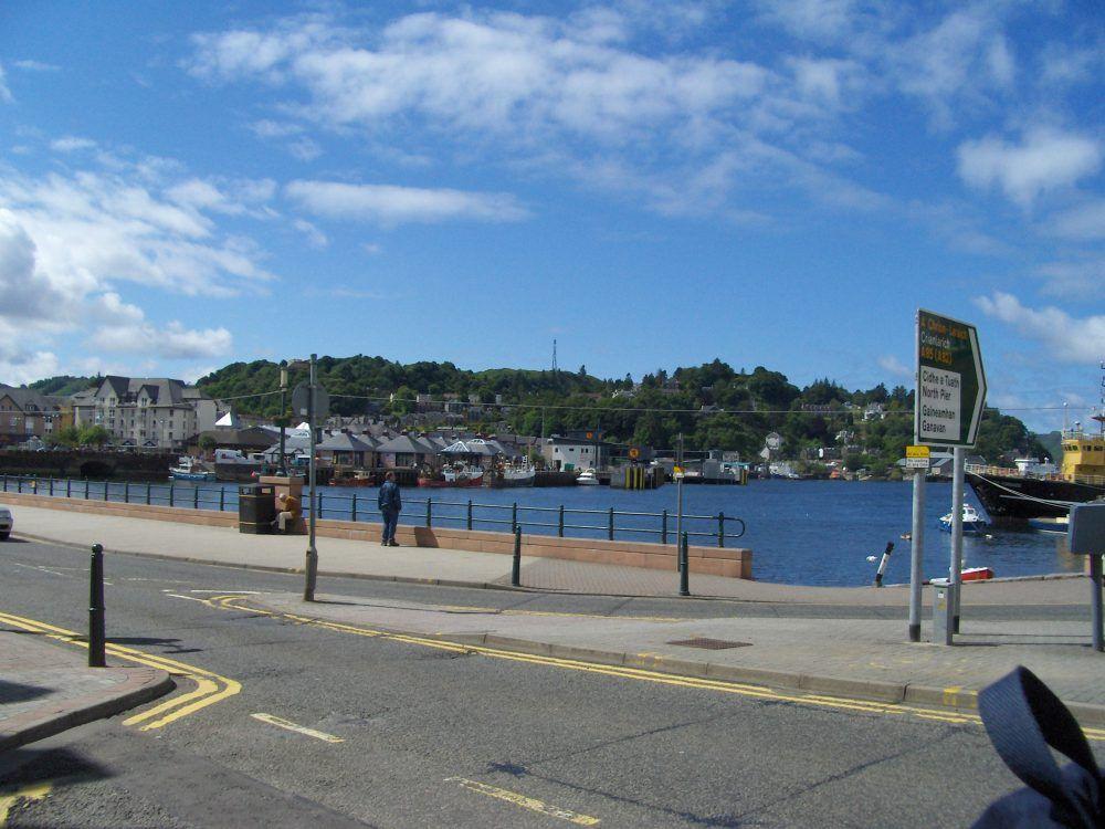 porto di Oban, tour della Scozia in auto