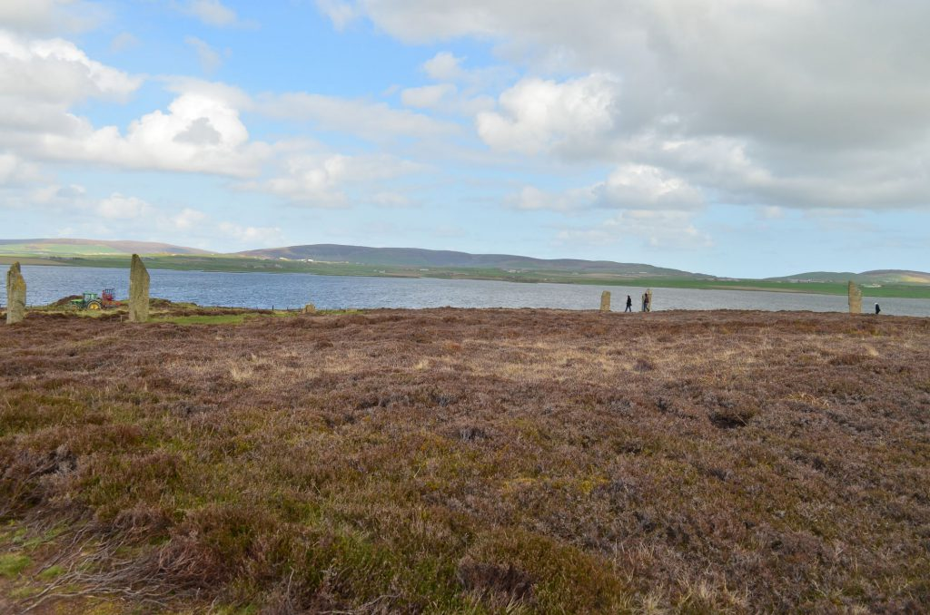 isole orcadi, cerchio di pietre