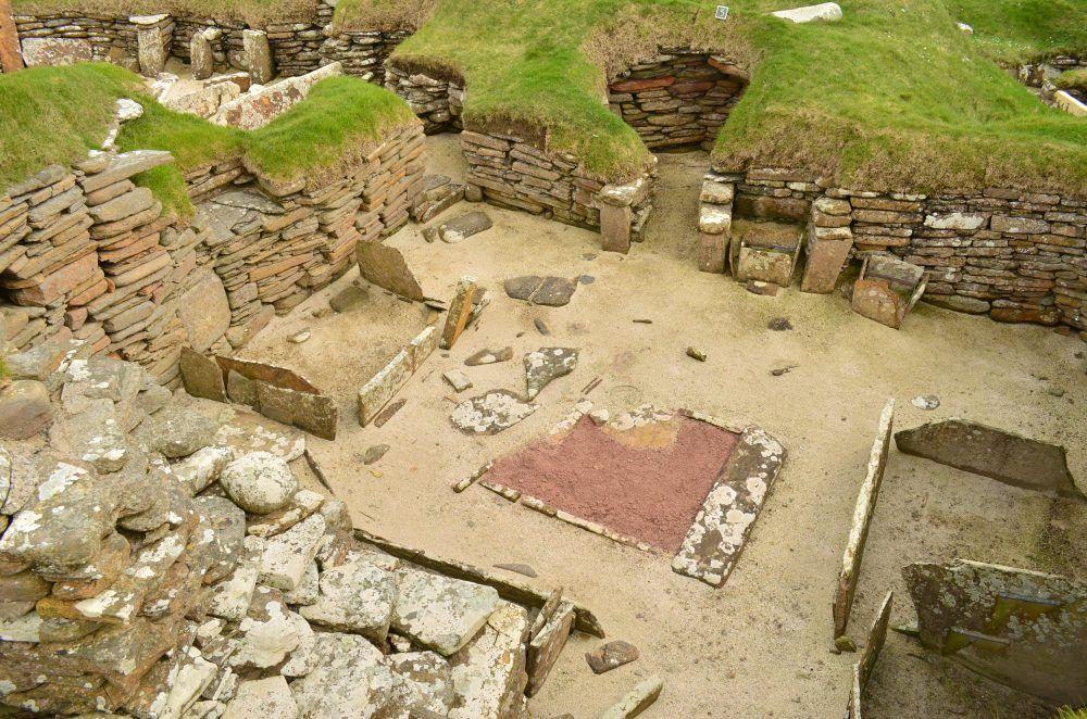 Isole Orcadi villaggio neolitico