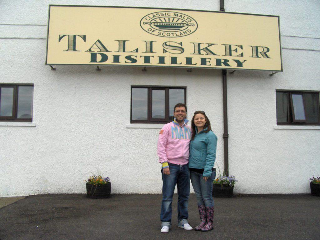 talisker distillery scozia - cosa vedere sull'Isola di Skye