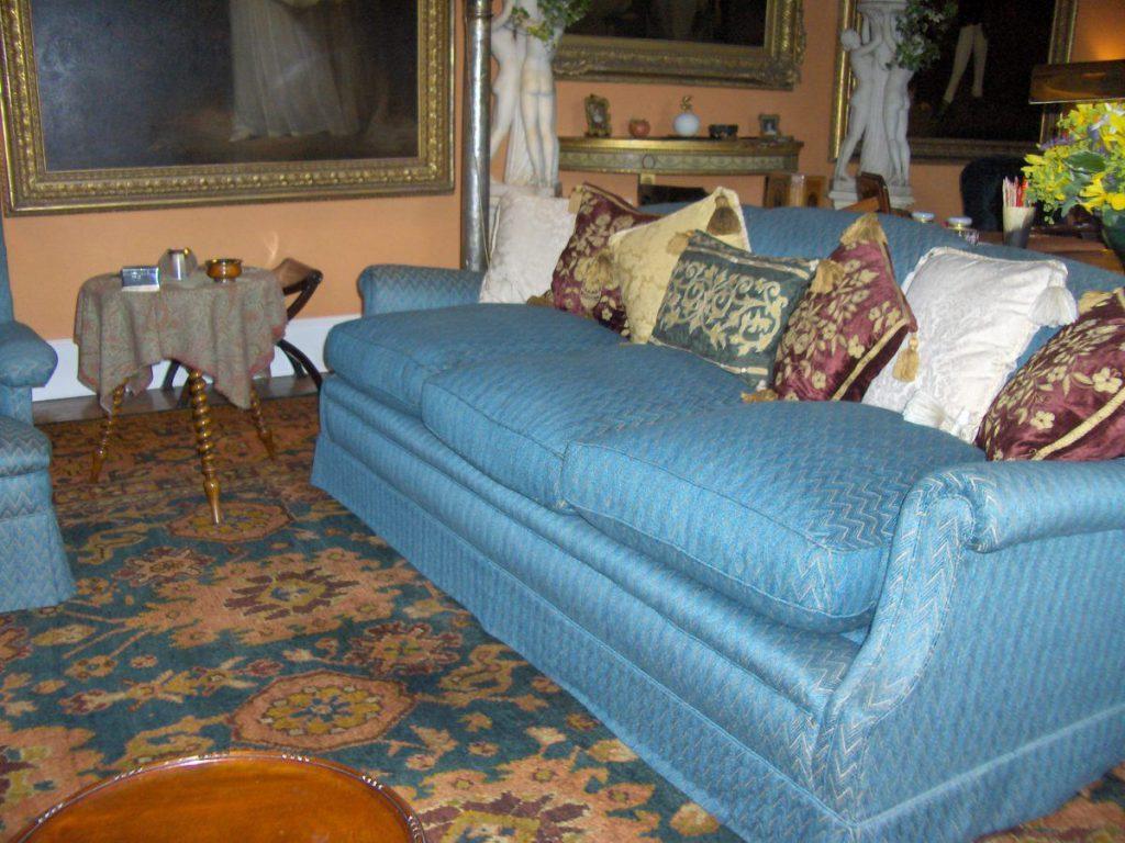 cawdor, divano blu
