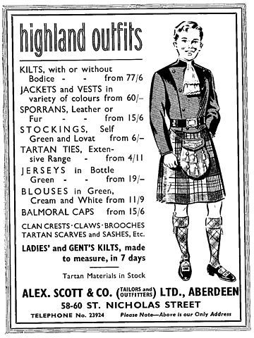 il kilt scozzese e la sua storia - kilt scozzese originale - gonna scozzese uomo