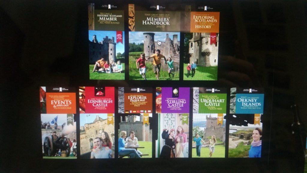 Scozia Pass attrazioni turistiche, pass castelli scozia