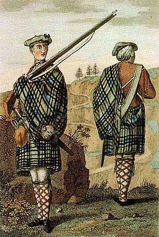 kilt scozzese - abito tradizionale scozzese - abbigliamento scozzese