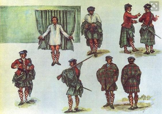 come indossare il kilt
