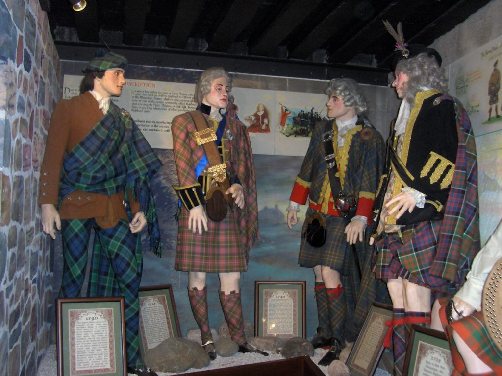 il kilt scozzese e la sua storia