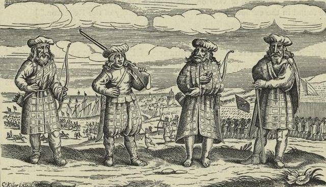 il kilt scozzese e la sua storia - abito tradizionale scozzese