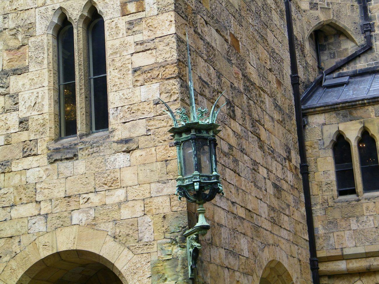 lampada antica Alnwick Castle