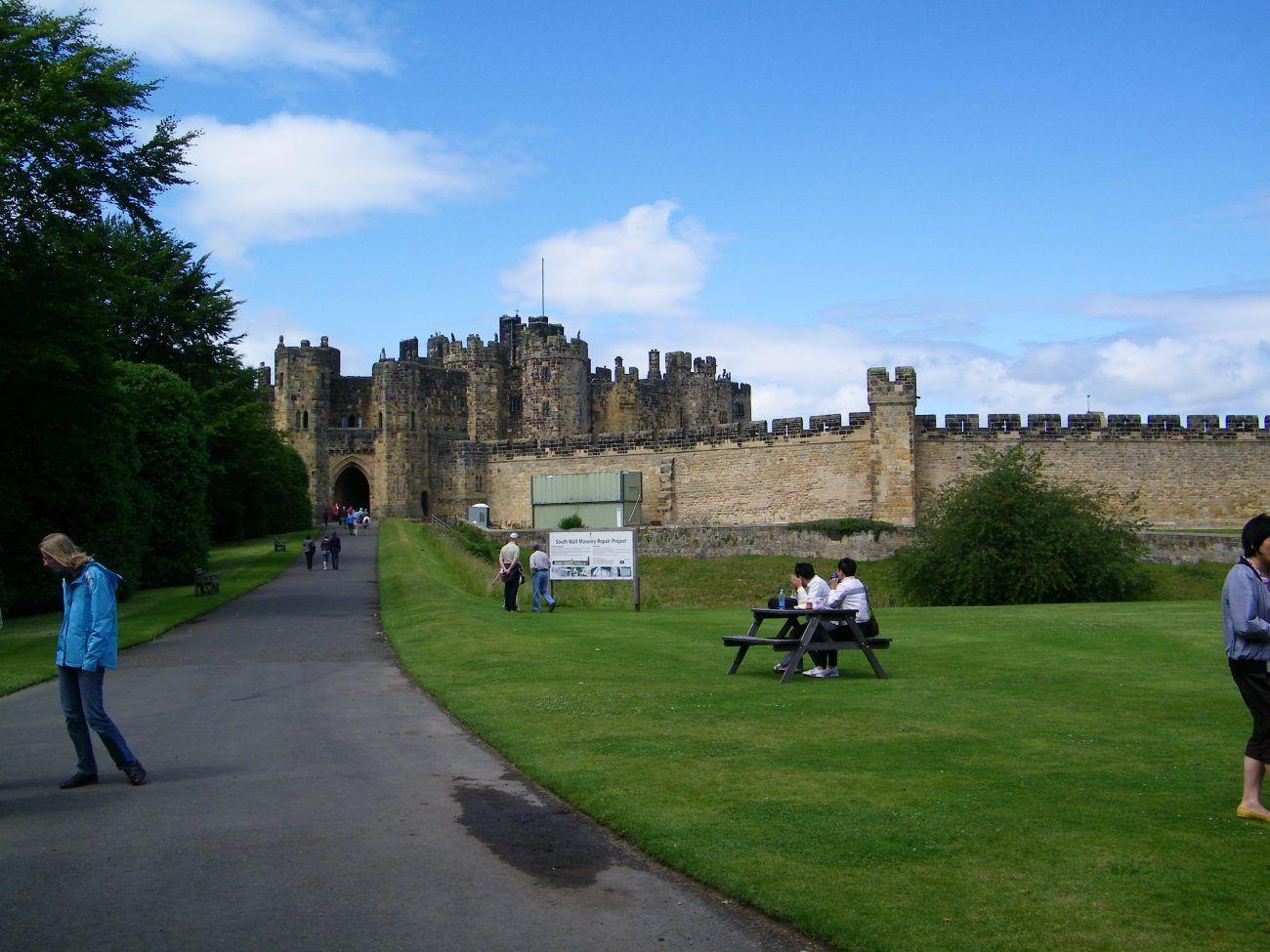 ingresso del castello di alnwick
