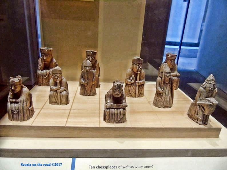 harry potter edimburgo - scacchi di lewis - edimburgo musei