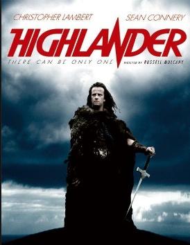la scozia nei film, Highlander l'ultimo immortale