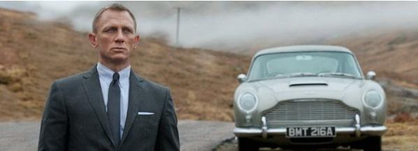la scozia nei film, James Bond
