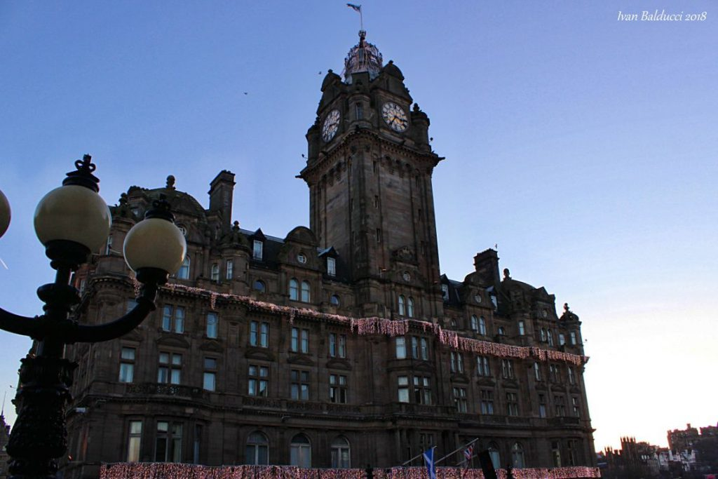 the balmoral hotel - edimburgo harry potter -itinerario scozia