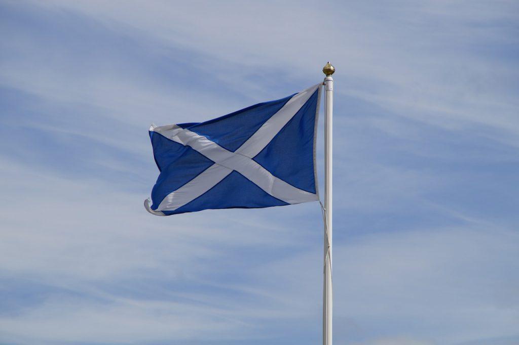 bandiera della scozia - St Andrew's day