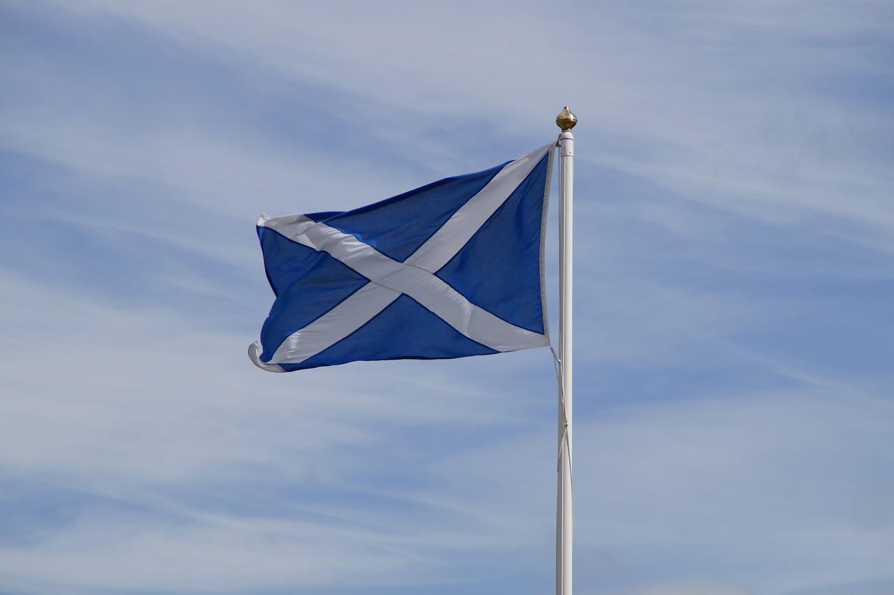 La Bandiera Scozzese E La Croce Di St Andrews 50sfumaturediviaggio