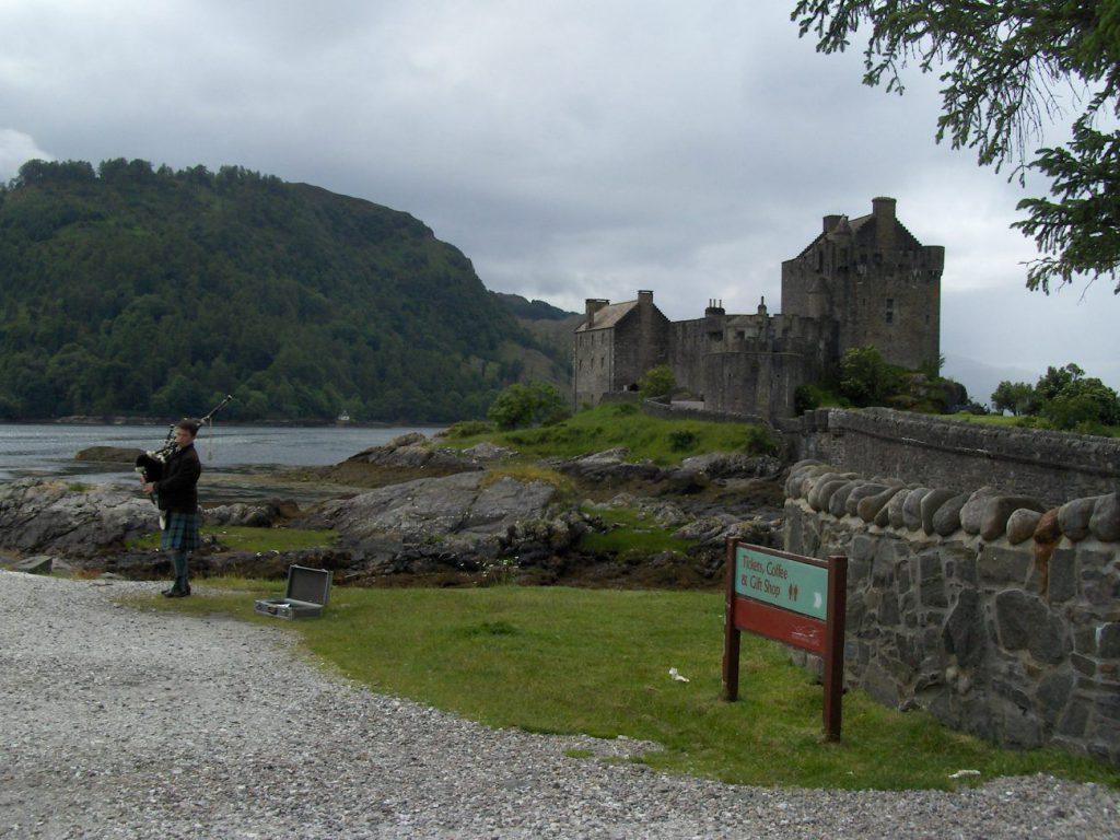 eilean donan castle, scozia