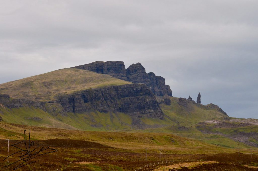 isola di skye, old man of storr