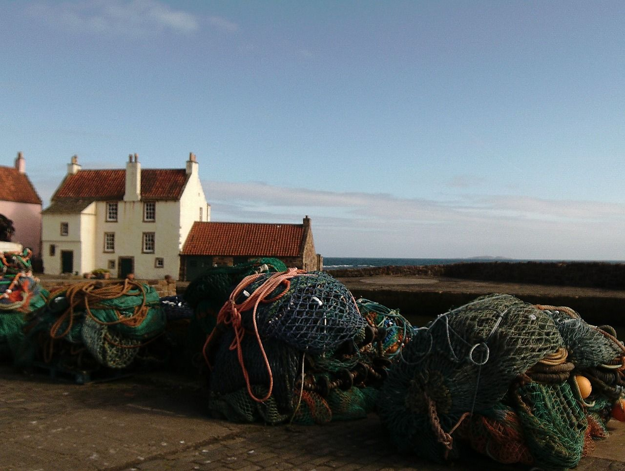 pittenweem, East Neuk of Fife ed i pittoreschi villaggi dei pescatori