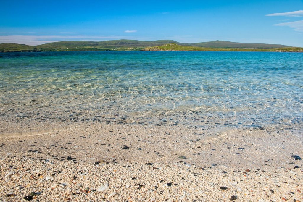 coral beach - isola di skye itinerario
