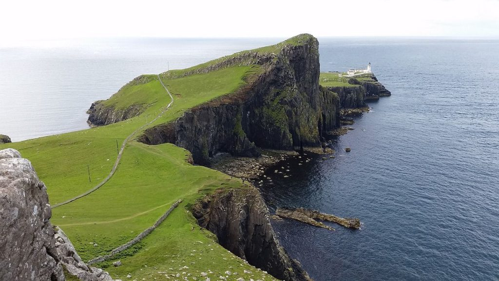 neist point scozia - animali fantastici scozia