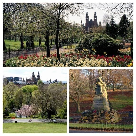kelvingrove park, cosa vedere in 3 Giorni a Glasgow, glasgow cose da vedere - cose da vedere a Glasgow - glasgow luoghi di interesse