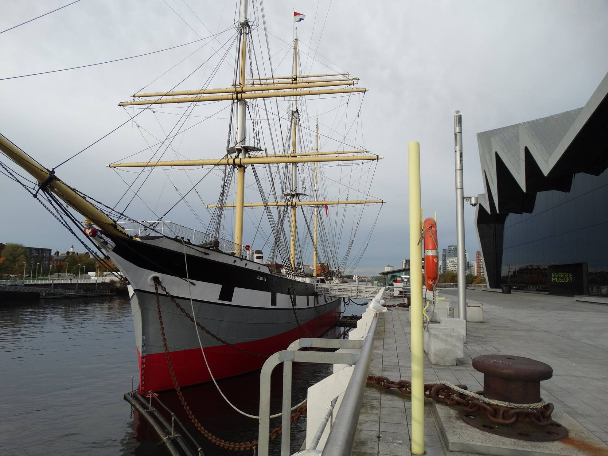 Glasgow river side museo