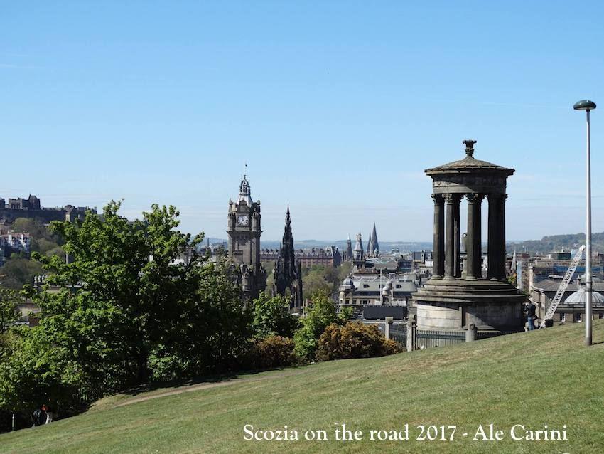edimburgo - Scozia in treno itinerario