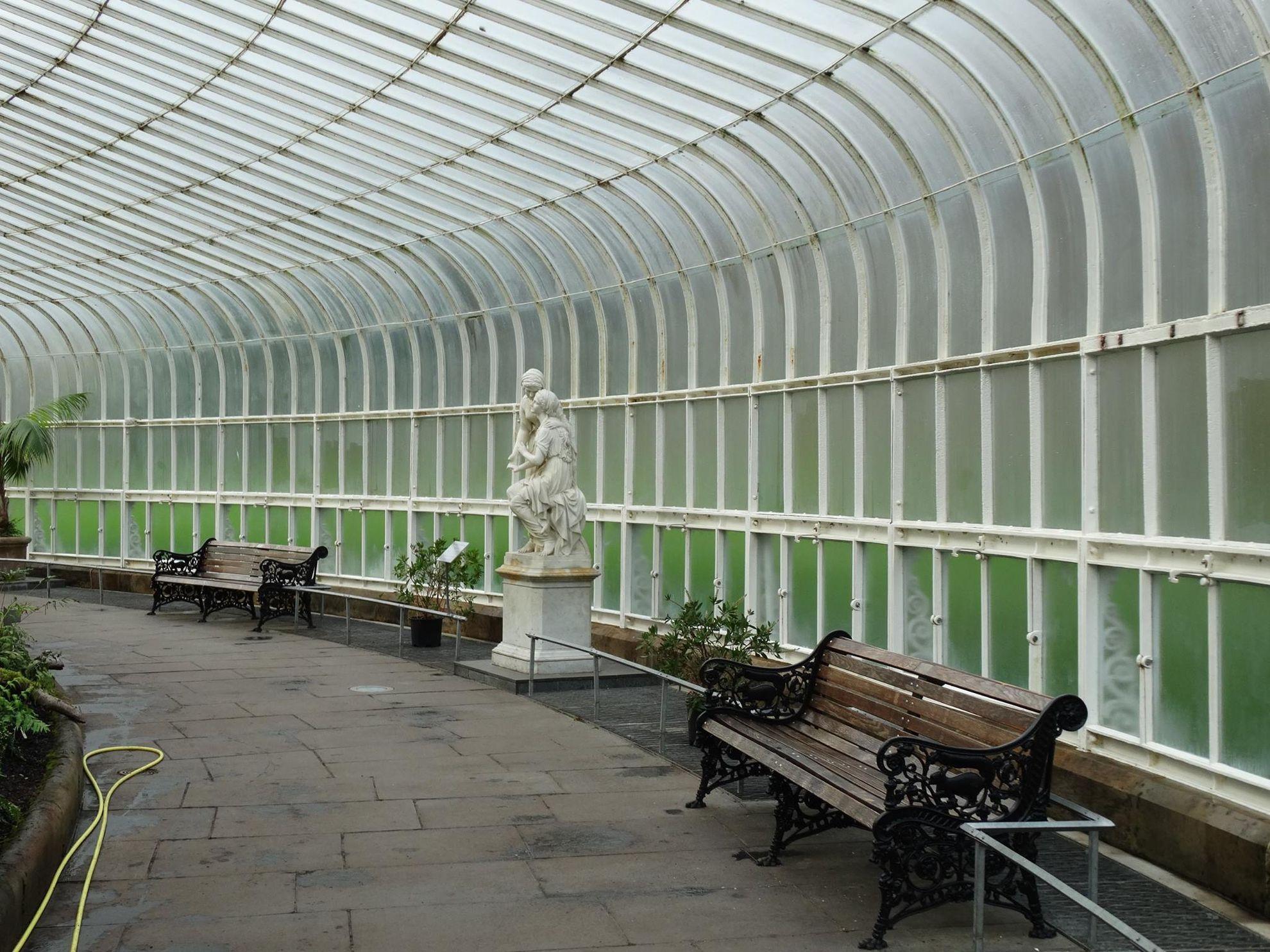 giardini botanici glasgow, serra