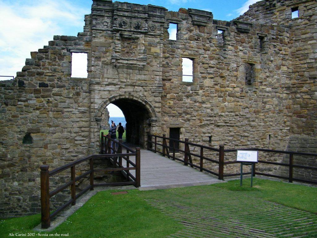 Cosa vedere a Saint Andrews, il castello