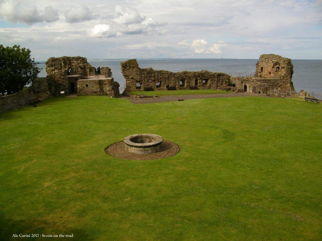 Cosa vedere a Saint Andrews, il castello di Saint Andrews - castelli in scozia