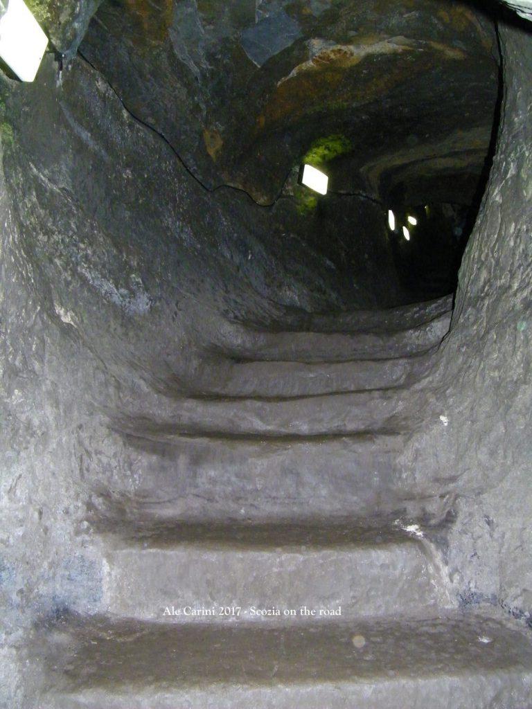 i cunicoli del castello di Saint Andrews