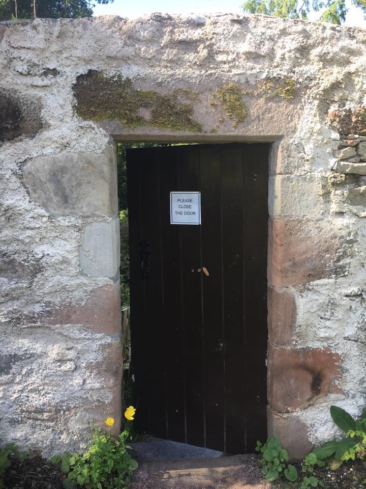 cawdor, porta nel muro