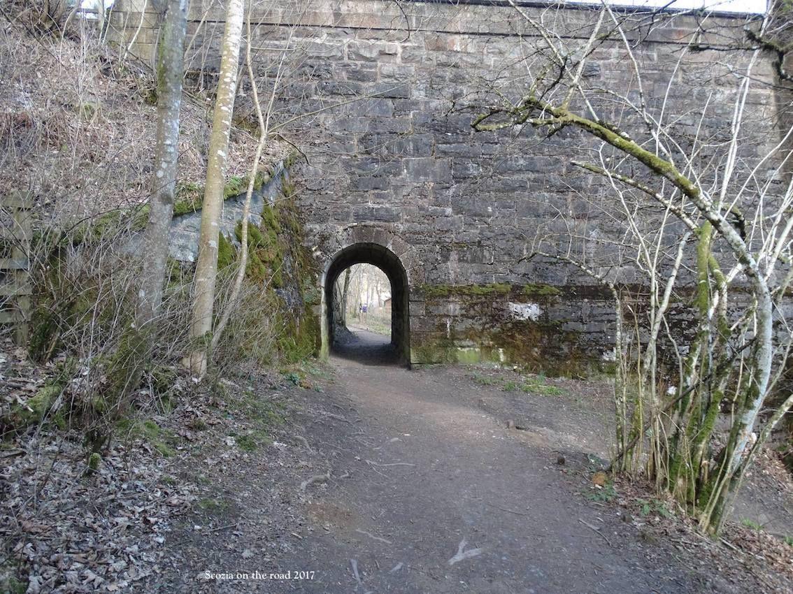 strada, ponte, tunnel