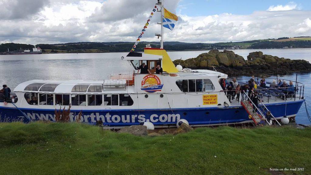 Inchcolm island Scozia