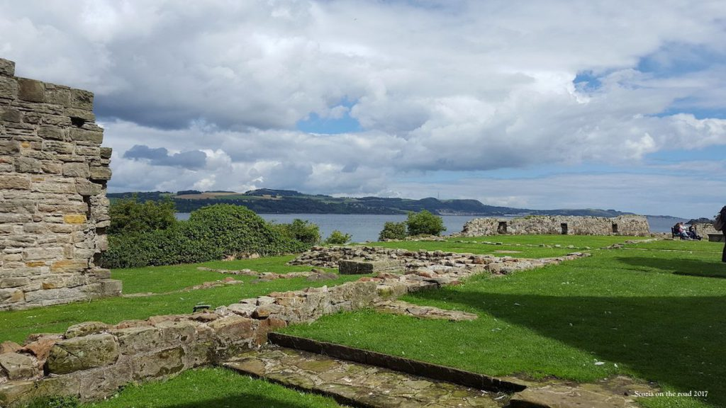 inchcolm abbey - inchcolm island scozia