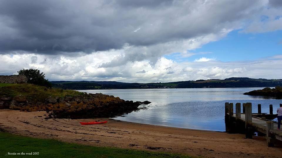 inchcolm island scozia - isole scozia