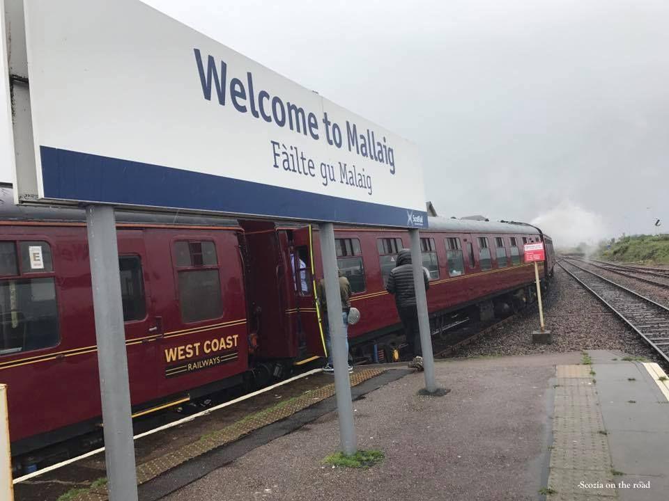 jacobite steam train, scozia