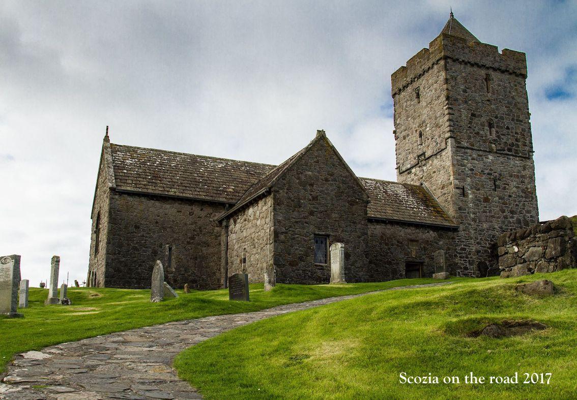 St.Clemen's Church - lewis & harris scozia - isole della scozia