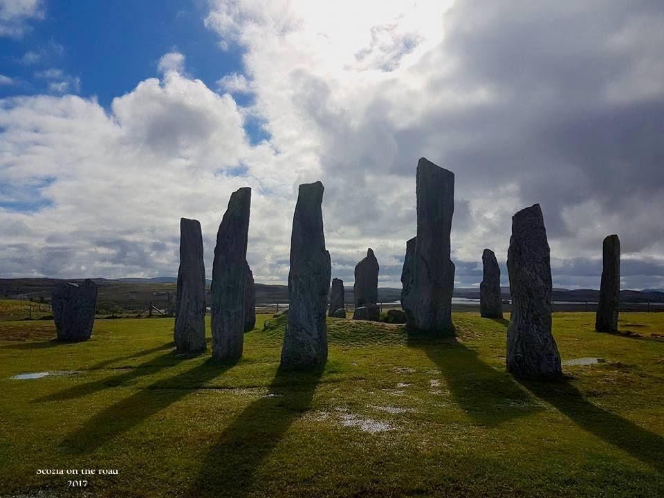 """Standing Stones"""" a Callanish, sull'Isola di LEwis (Ebridi)"""