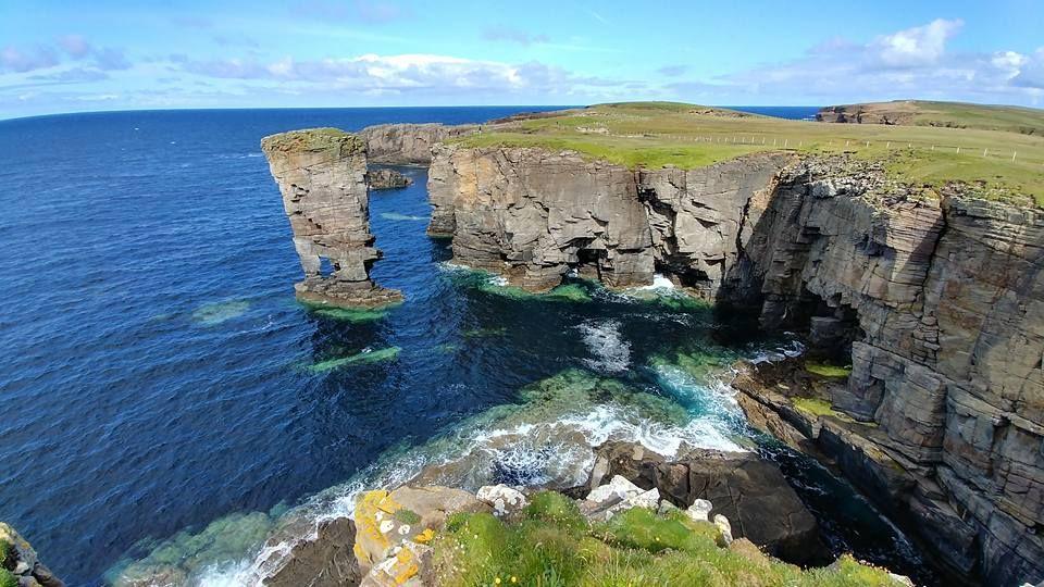 scogliere isole orcadi