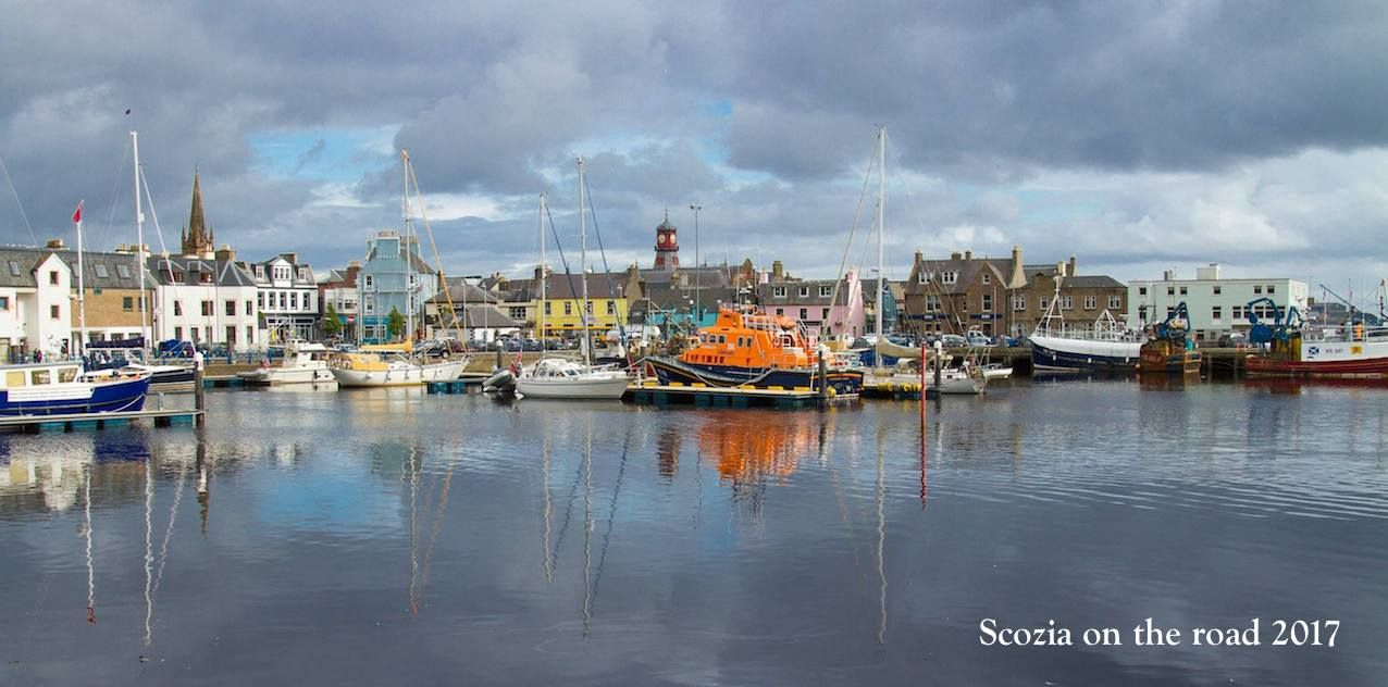 Stornoway, Lewis e Harris, isole scozia