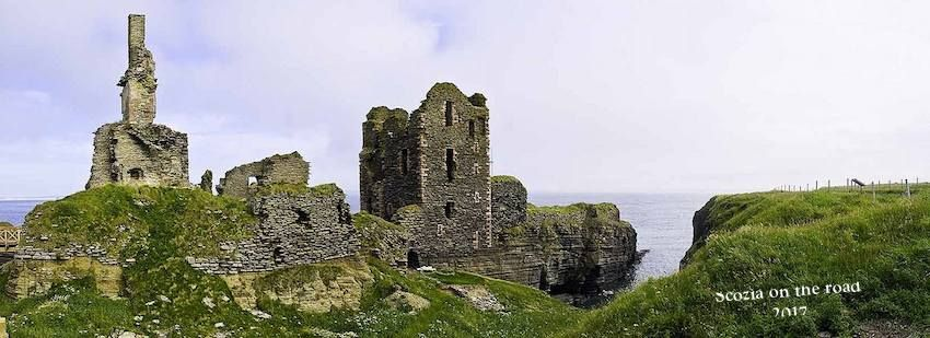 Castle Sinclair Girnigoe - scozia del nord