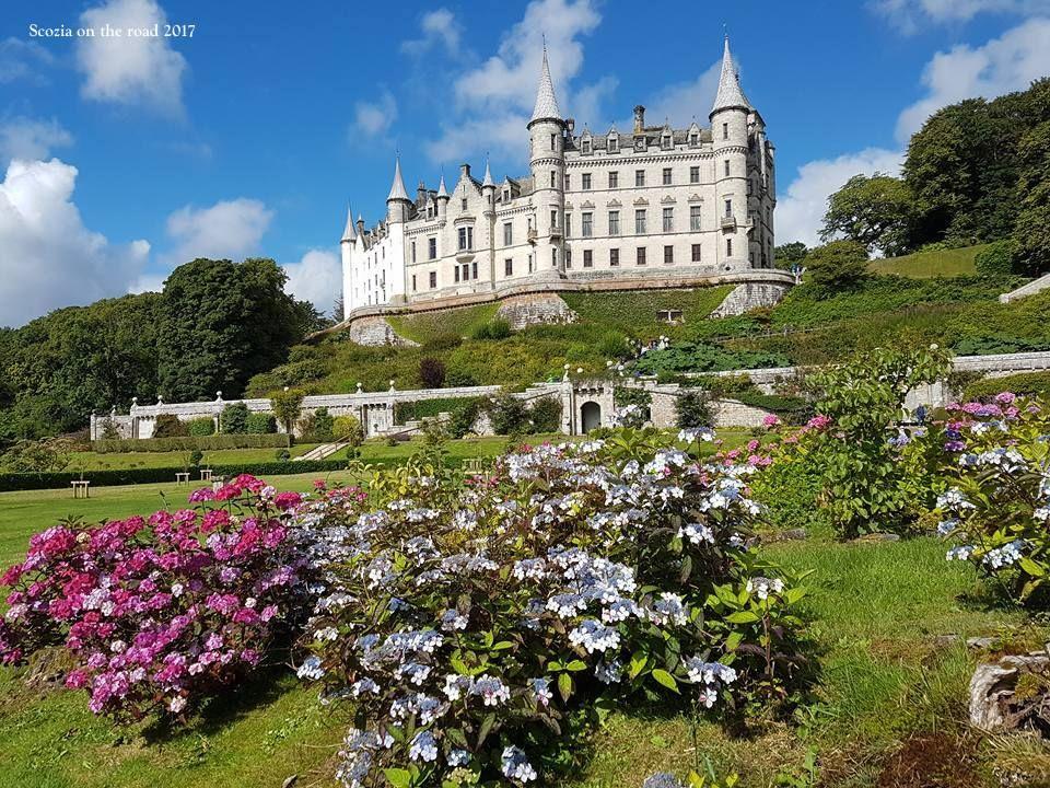 dunrobin castle - itinerario scozia - da inverness a john o'groats